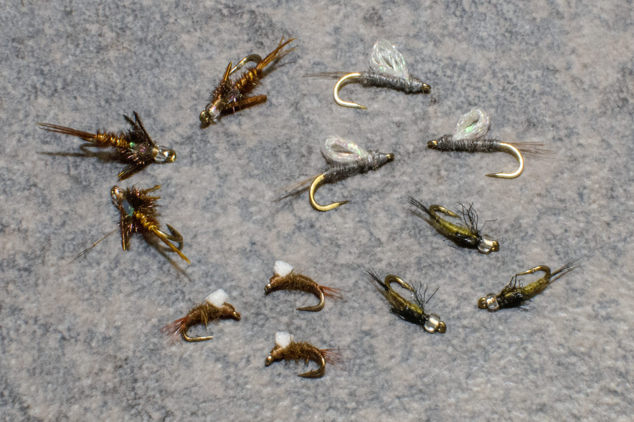 Baetis Bunch Mini Fly Assortment