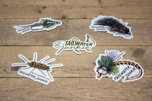 Tailwater Junkie Stickers