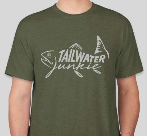 Tailwater Junkie Shirt Military Green